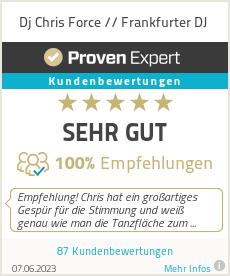 Erfahrungen & Bewertungen zu Dj Chris Force // Frankfurter DJ
