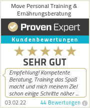 Erfahrungen & Bewertungen zu Move Personal Training & Ernaehrungsberatung