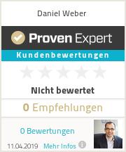 Erfahrungen & Bewertungen zu Daniel Weber