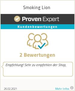 Erfahrungen & Bewertungen zu Smoking Lion