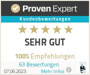 Erfahrungen & Bewertungen zu Barmenia Versicherung - Rüdiger Schuft