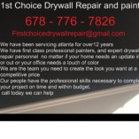 First Choice Drywall Repair