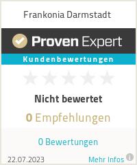 Erfahrungen & Bewertungen zu Frankonia Darmstadt