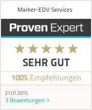 Erfahrungen & Bewertungen zu Marker-EDV Services