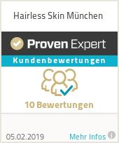 Erfahrungen & Bewertungen zu Hairless Skin München