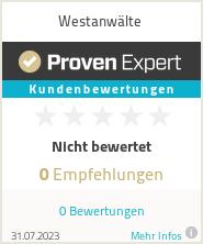Erfahrungen & Bewertungen zu Westanwälte