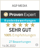 Erfahrungen & Bewertungen zu AGP MEDIA