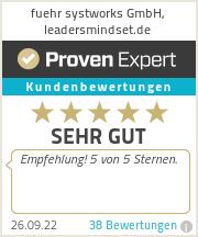 Erfahrungen & Bewertungen zu fuehr systworks GmbH, leadersmindset.de