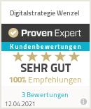Erfahrungen & Bewertungen zu Digitalstrategie Wenzel