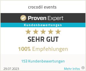 Erfahrungen & Bewertungen zu crocodil events