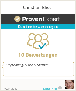 Erfahrungen & Bewertungen zu Christian Bliss