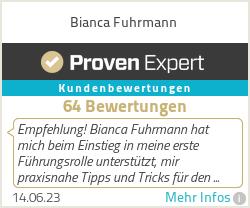 Erfahrungen & Bewertungen zu Bianca Fuhrmann