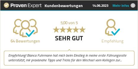 Erfahrungen & Bewertungen zu Bianca Fuhrmann anzeigen
