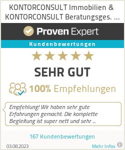 Erfahrungen & Bewertungen zu KONTORCONSULT Immobilien & KONTORCONSULT Beratungsges. mbH & Co. KG