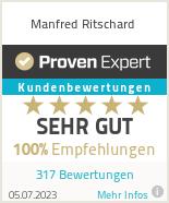Erfahrungen & Bewertungen zu Manfred Ritschard