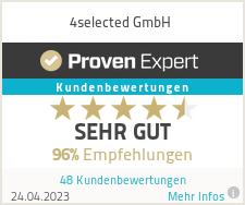 Erfahrungen & Bewertungen zu 4selected GmbH