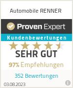 Erfahrungen & Bewertungen zu Automobile RENNER
