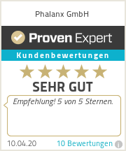 Erfahrungen & Bewertungen zu Phalanx GmbH