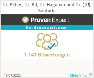 Erfahrungen & Bewertungen zu Dr. Akbas & Dr. Alt