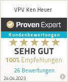 Erfahrungen & Bewertungen zu VPV Ken Heuer