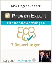 Erfahrungen & Bewertungen zu Max Hagenbuchner