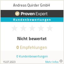 Erfahrungen & Bewertungen zu Andreas Quirder GmbH