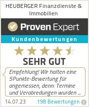 Erfahrungen & Bewertungen zu HEUBERGER Finanzdienste & Immobilien