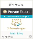 Erfahrungen & Bewertungen zu SFN Hosting