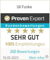 Erfahrungen & Bewertungen zu Uli Funke
