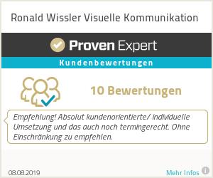 Erfahrungen & Bewertungen zu Ronald Wissler Visuelle Kommunikation