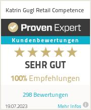 Erfahrungen & Bewertungen zu Katrin Gugl Retail Competence