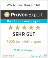 Erfahrungen & Bewertungen zu WMT-Consulting GmbH