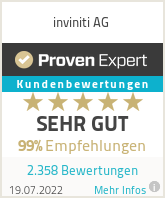Erfahrungen & Bewertungen zu inviniti AG