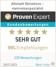 Erfahrungen & Bewertungen zu Altstadt Reisebüro - meinreisespezialist
