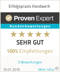 Erfahrungen & Bewertungen zu Erfolgspraxis Handwerk