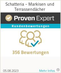 Erfahrungen & Bewertungen zu Schatteria - Markisen und Terrassendächer
