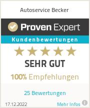 Erfahrungen & Bewertungen zu Autoservice Becker