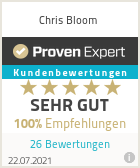 Erfahrungen & Bewertungen zu Chris Bloom