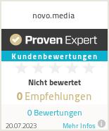 Erfahrungen & Bewertungen zu novo.media