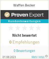 Erfahrungen & Bewertungen zu Waffen Becker