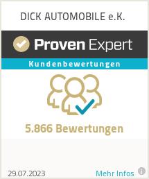 Erfahrungen & Bewertungen zu DICK AUTOMOBILE e.K.