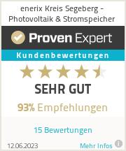 Erfahrungen & Bewertungen zu enerix Kreis Segeberg - Photovoltaik & Stromspeicher