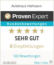 Erfahrungen & Bewertungen zu Autohaus Hofmann