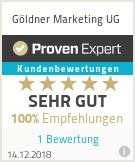 Erfahrungen & Bewertungen zu Göldner Marketing UG
