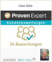 Erfahrungen & Bewertungen zu Uwe Götz