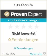 Erfahrungen & Bewertungen zu Kurs-Check24