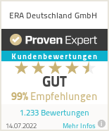 Erfahrungen & Bewertungen zu ERA Deutschland GmbH