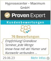 Erfahrungen &  Bewertungen zu Hypnosecenter - Maximum GmbH