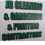 Jb cleaning and gardening and printing contractors