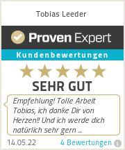 Erfahrungen & Bewertungen zu Tobias Leeder